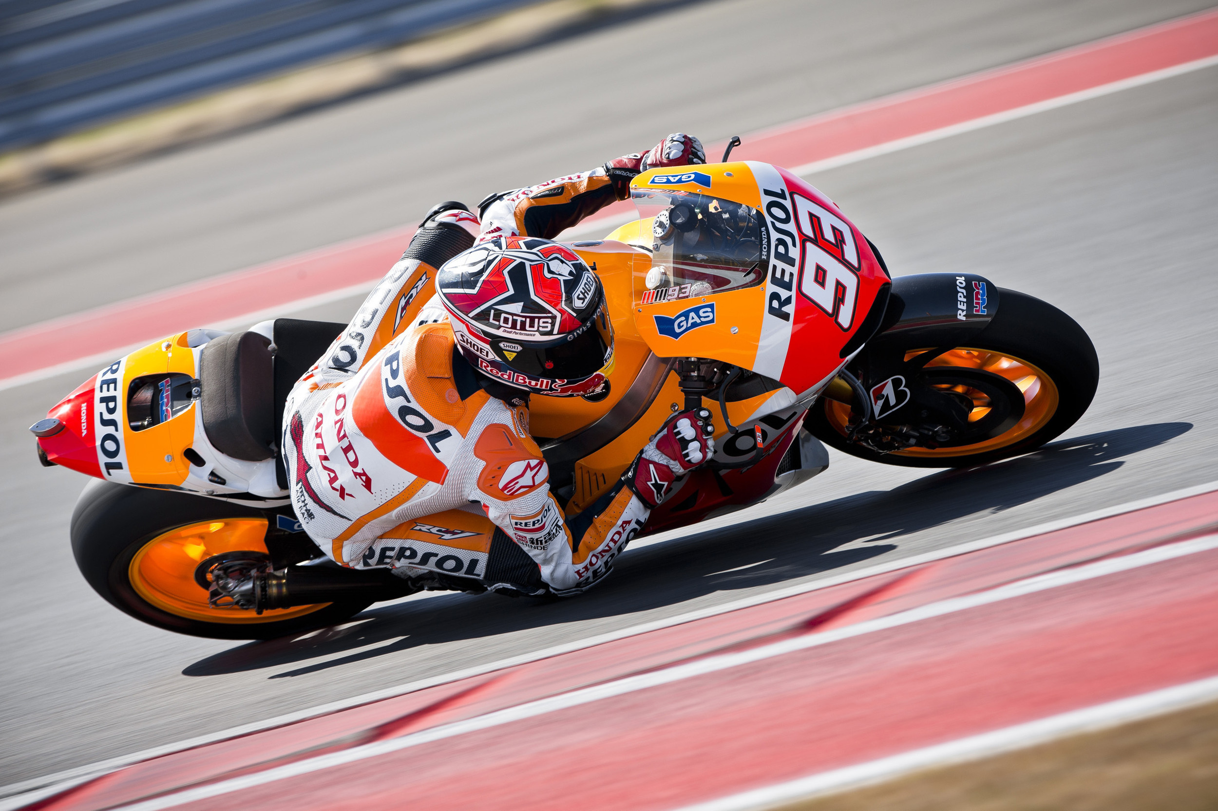 2013 MotoGP Takes Over the Circuits of the Americas Race Track